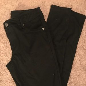 Gap Black Stretch Skinny Pants
